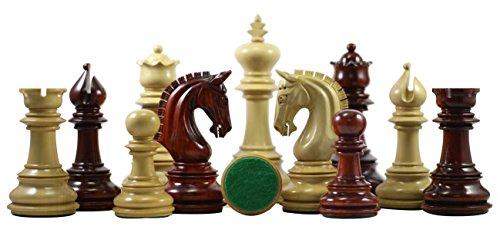 (Staunton Castle Alexandria Series Premium Chess Pieces 4.5
