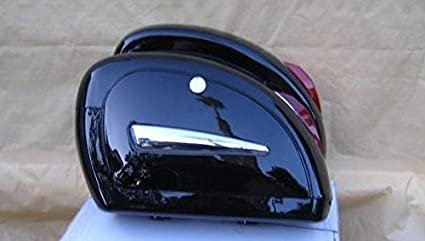 Amazon.com: LN - Sillín para motocicleta, color negro, con ...