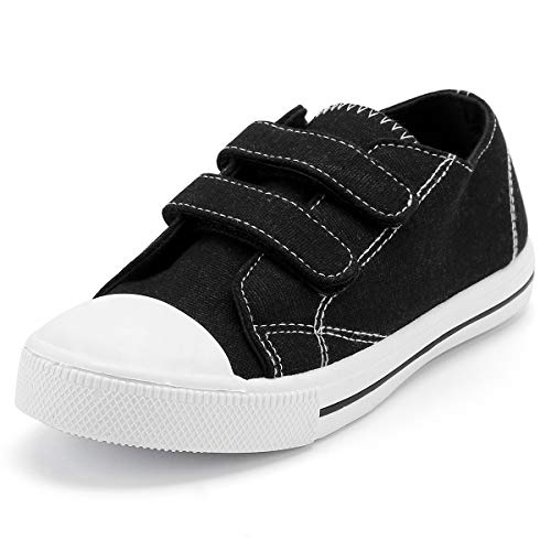- KomForme Girl Baby Sneakers Black, 8 M US Toddler