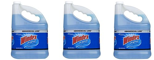 S C JOHNSON 12207 Windex Gallon Pro Refill IIEsfV, Three Gallons by S C JOHNSON (Image #1)