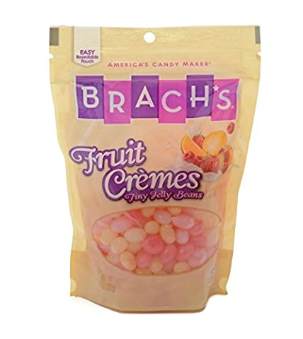 Brach's Fruit Cremes Jelly Bean Stand Up Bag, 14 oz Bag ( 2 Pack)