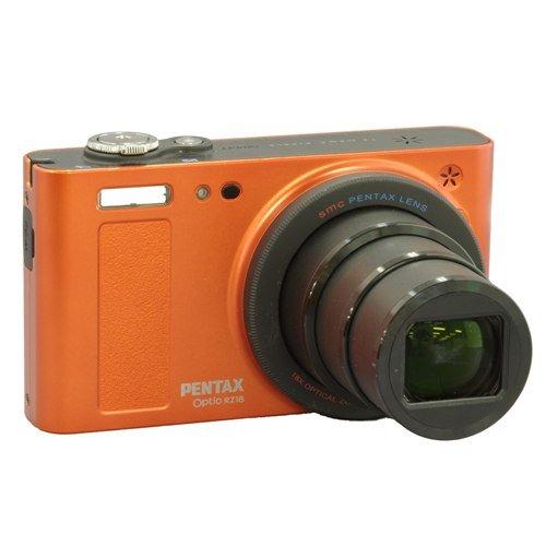 ペンタックス オプティオ RZ18 メタリックオレンジ