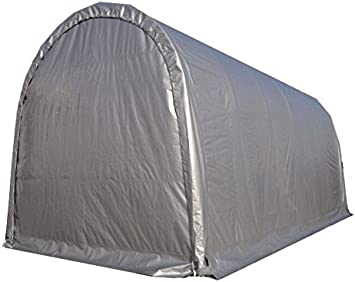 Amazon Com Rv Carport Storage Shelter Tent 14 X 30 22oz Fabric Galvanized Steel Pipes 14 Height Home Improvement