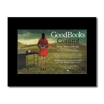 Music Ad World GOOD BOOKS - Control Mini Poster - 21x13.5cm -