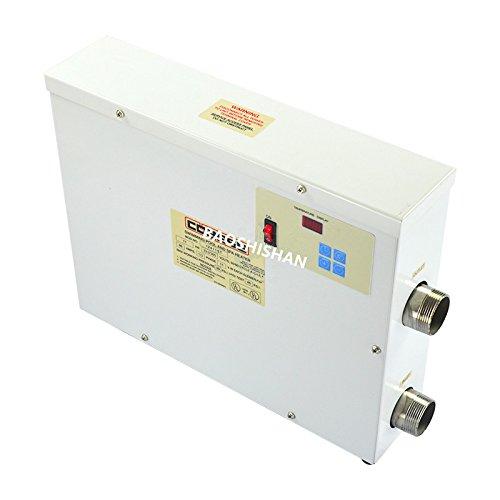 BAOSHISHAN Digital Display Pool Thermostat 5.5~36KW Electric Heating Thermostat Equipment (15kw/380V) by BAOSHISHAN