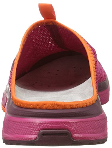 Chaussures Femme De Rx Salomon Trail 0 Rouge sangria fig 3 Slide flame I7114wqH