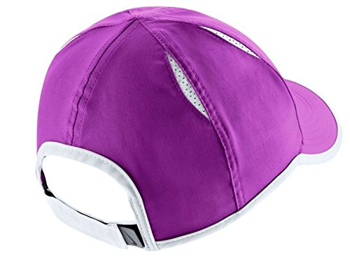 Nike Women's Featherlight Hat (Vivid Purple/Black/White, One Size)