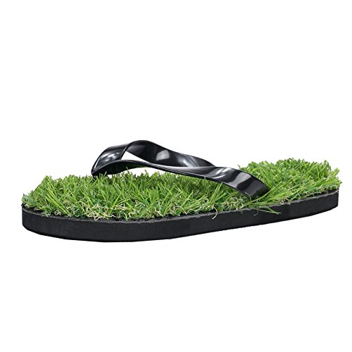 Sandals Black Casual Women Lawn Men Flip fereshte For Grass Flop Summer Artificial a0qxOPwZF