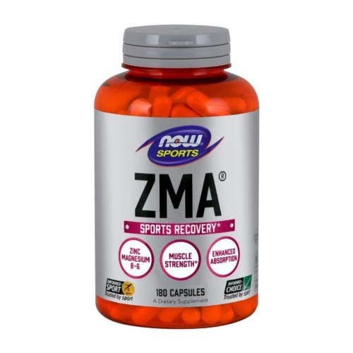 Now Foods: ZMA 800 mg, 180 Caps, (6 pack)