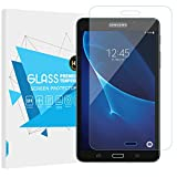 "TiMOVO Screen Protector Compatible with Samsung Tab A 7, Ultra Clear 9H Hardness Anti-Scratch Film Tempered Glass Screen Protector for Galaxy Tab A 7.0"" (SM-T280/SM-T285) 2016 Tablet - Clear"