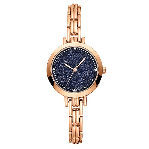 gold colored watch - 7