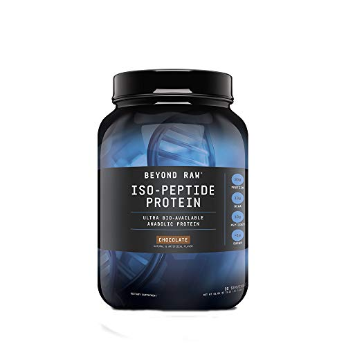 Beyond Raw Iso-Peptide Protein, Chocolate, 3 lbs