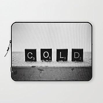 longdong de 13 pulgadas frío Scrabble Azulejos carcasa del ordenador bolsa Slim Funda Neopreno, impermeable para portátil Macbook Pro/portátiles/Notebook: ...