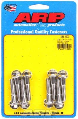 ARP 4342002 Sb Chevy Vortec Stainless Steel Hex Intake Manifold Bolt (Hex Chevy)
