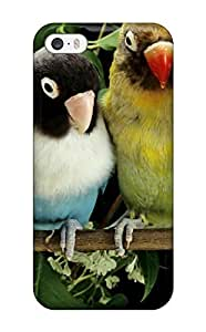 Best 3055432K89361304 Case Cover Protector Specially Made For Iphone 5/5s Lovebirds