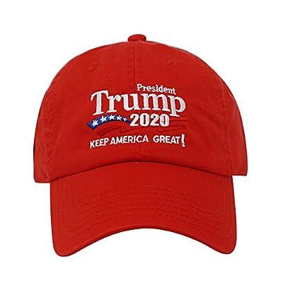 ChoKoLids Trump 2020 Keep America Great Campaign Embroidered USA Hat   Baseball Bucket Trucker Cap