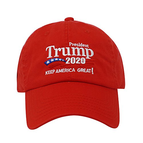 ChoKoLids Trump 2020 Keep America Great Campaign Embroidered USA Hat | Baseball Bucket Trucker Cap