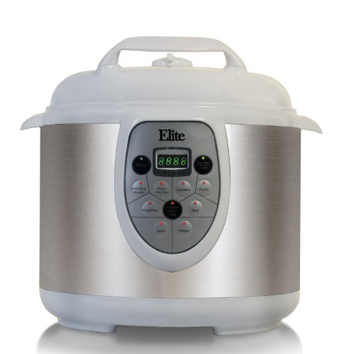 elite 6 qt pressure cooker - 6