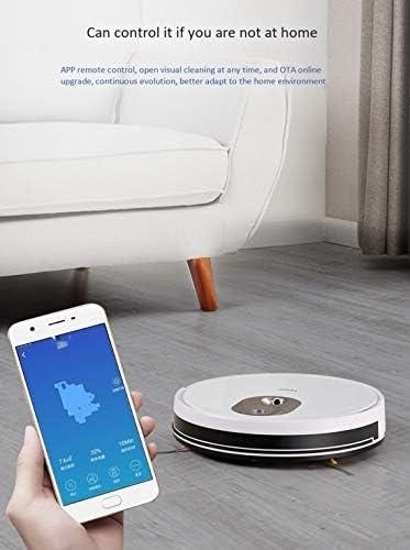 Gmjay Robot Automatique Intelligent de Balayeuse de Recharge de Maison D\'aspirateur de Robot Approprié Aux Planchers en Bois/Tuiles/Marbre/Tapis
