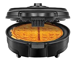 It's time to make a change to your waffle routine! Fresh Belgian waffles and a clean counter-top have always been the unachievable dream for the home cook and breakfast enthusiast. With the mess-free, anti-overflow waffle maker, Chefman has made thos...