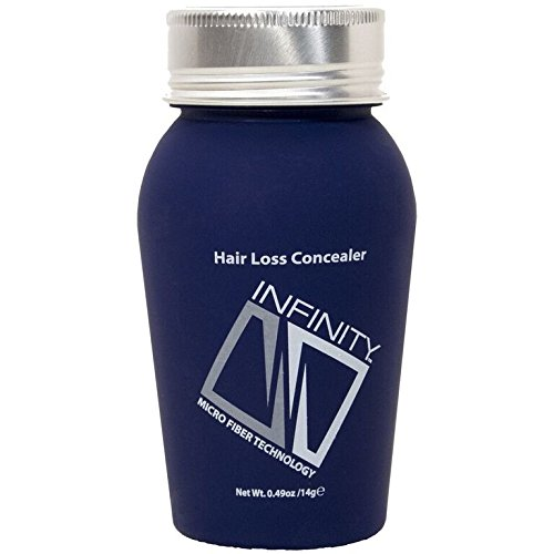 Infinity Hair Building Fibers to Conceal Thinning Hair for the Appearance of Thicker, Fuller Hair for Women & Men