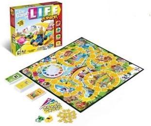 Juego de vida Junior tablero decidido juegos Hasbro del juego: Amazon.es: Deportes y aire libre