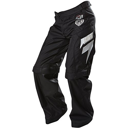 Shift Motorcycle Pants - Shift Racing Recon Exposure Men's MX Motorcycle Pants - Black / Size 30