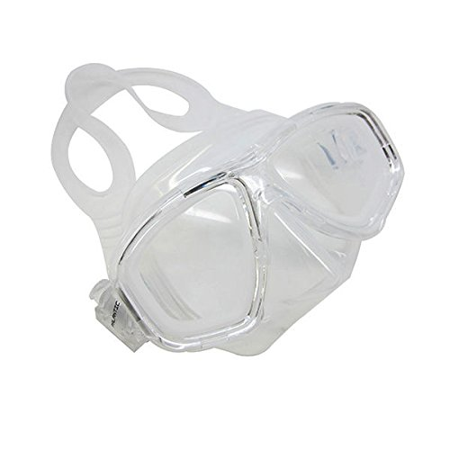 Scuba Choice Clear Dive Mask Farsighted Prescription RX Optical Corrective FULL Lenses (+1.5)