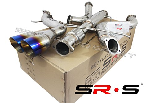 - SRS TYPE-R1 BURNT TIP CATBACK EXHAUST SYSTEM FOR 2013-2017 FORD FOCUS ST 2.0L TURBO 3
