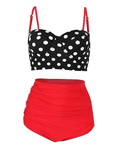 JOYMODE One Piece Missy Swimdress Shaping Body Bathing Suit for Women Size 3XL