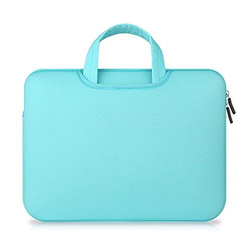 Maletín Para Ordenador Portátil Funda Protectora Maletín Bolso Para Macbook Laptop Mint Green