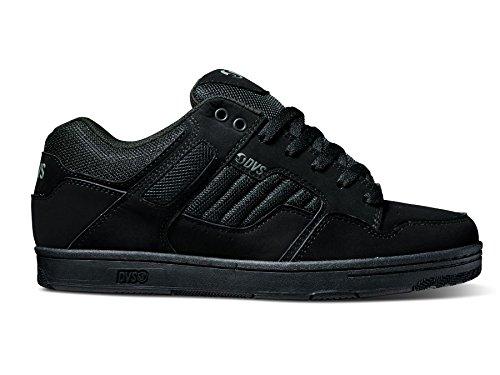 DVS Men's Enduro 125 Skate Shoes-10.5 Black Leather