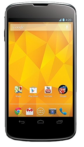 LG Google Nexus 4 E960 16GB Unlocked GSM Smartphone w/ 8MP Camera and 4.7
