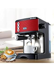 DTBA Cafetera Espresso 1.7L Cafetera Semiautomática con ...