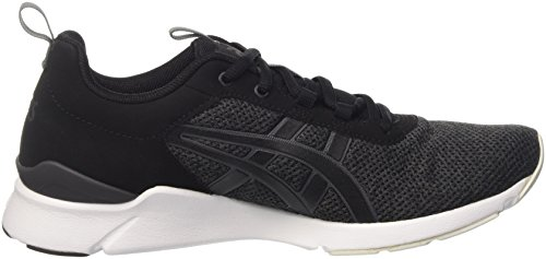 5 Black ASICS Lyte Gel Mens 10 Runner Running Trainers Shoes q17Upqw