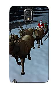 New Ycbqtf-4787-dnnuxel 3d Santa And Irvases Skin Case Cover Shatterproof Case For Galaxy Note 3