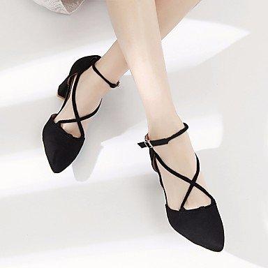 Confort Almendra EU36 Zormey De Mujer Pu Primavera CN36 UK4 Casual Sandalias Negro US6 8ZxfIZvqw