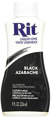 Rit Dye Liquid Fabric Dye, 8-Ounce,  Black