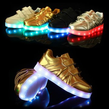 Kids LED Light Shoes Sneakers Leather Casual Boy Girl Shoes Children New   Buy Online at Low Prices in India - Amazon.in 14b017417bba