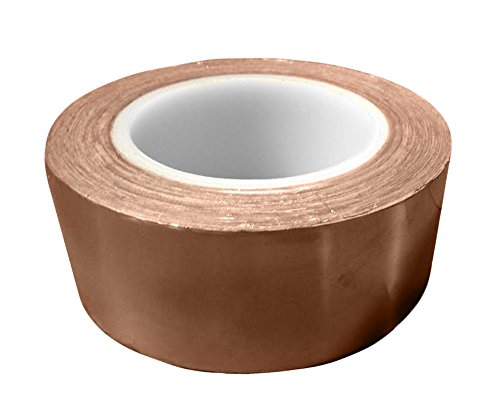 Bertech Copper Conductive Tape, 3'' Wide x 36 Yards Long, 2.75 mil Thick on a 3'' Core by Bertech