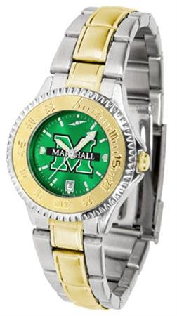 - Marshall Thundering Herd Competitor Two-Tone AnoChrome Women's Watch