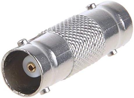 Adaptateur de convertisseur dextension de c/âble CCTV coupleur Sikker 5 BNC Femelle /à BNC F de Conception exquise et Durable