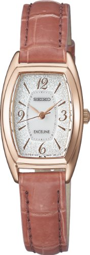 SEIKO EXCELINE waterproof (10 atm) curve sapphire glass solar Women's Watch SWCQ044 [Japan Import]