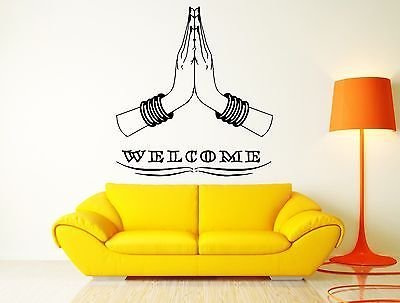 Amazon.com: Welcome Cool Home Sweet Home Decor India Indian Hinduism ...