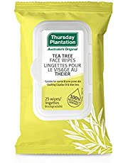 Thursday Plantation Tea Tree Face Wipes, 25 Count