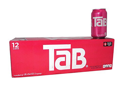 TaB Diet Cola Soda, 12 Ounce (12 Cans) ()