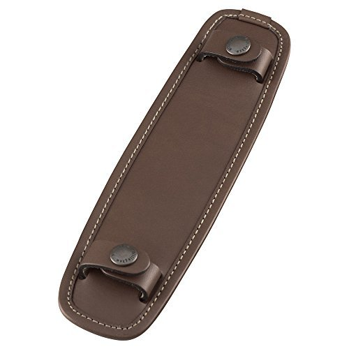 Billingham SP40 Leather Shoulder Pad - Chocolate by Billingham