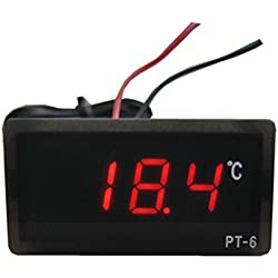 Humidity Meters ,LtrottedJDC 12V -50 To 110 Celsius Digital LED Thermometer ,Temperature ,Detector