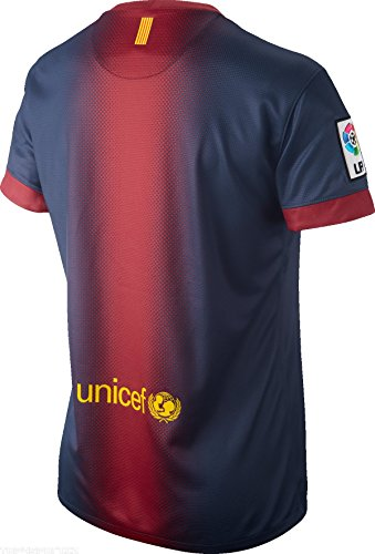 Womens Nike Red 2012 Barcelona 13 Shirt Home ISESw8Bx