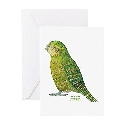 CafePress - Kakapo - Greeting Card, Note Card, Birthday Card, Blank Inside ()